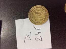 JETON  A CONSOMMER   50  Centimes   ERNEST   en L Etat Sur Les Photos - Monetary / Of Necessity
