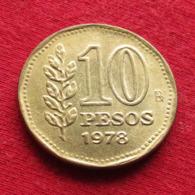 Argentina 10 Pesos 1978 KM# 72  Argentine Argentinie - Argentine