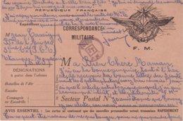 """FRANCE : CARTE FM . D'ETAMPES . CACHET """" POSTE JT FM """" . - Marcophilie (Lettres)"""
