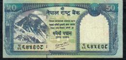 NEPAL P63b 50 RUPEES 2010 Signature 16  AVF - Nepal