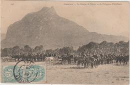 Isère :  GRENOBLE : Le  Casque  De  Néron Vu   Du  Polygone D ' Artillerie ,  Soldats 1906 - Grenoble