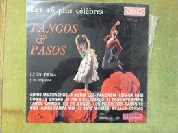 Les 16 Plus Célèbres Tangos & Pasos - LUIS PENA Y Su Orquesta - Other - Spanish Music
