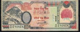 NEPAL P67b 1000 RUPEES 2008 Signature 14  FINE - Nepal