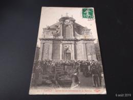 CPA (54) Nancy.Eglise Saint-Sébastien Et Le Marché. (H.061). - Nancy