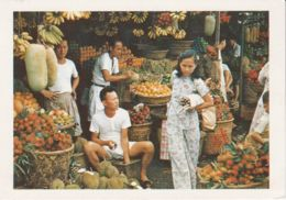 Postcard - Singapore - Market Scene No..19 Unused Very Good - Postkaarten