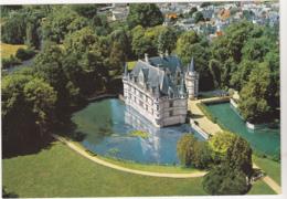 Postcard - Merveilles Du Val De Loire - Le Chateau Du XVIe Siecle, Entoure Par I'lndre.Vue Aerienne - Card No. 2814 - VG - Postkaarten