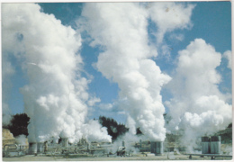 Postcard - Wairakei Taupo N.Z - Where Geothermal Energy Is Converted To Electricity - VG - Postkaarten