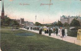 Postcard - Bournemouth, The Gardens 1900 Card No.285 Unused Very Good - Postkaarten