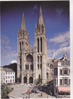 Postcard - Truro Cathedral - The West Front From High Cross - Card No. C7013X - VG - Postkaarten