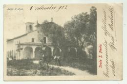 ISOLA S. PAOLO 1902 - LAGO D'ISEO  VIAGGIATA  FP - Brescia