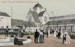 AK - BRÜSSEL - Weltausstellung - Section Allemande Deutscher Pavillon 1910 - Weltausstellungen