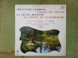Les Plus Beaux Extraits De Princesse Czardas Valses De Vienne La Veuve Joyeuse Le Comte De Luxembourg - Opera