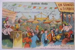 Bremen Vegesack, Gruss Vom Jahrmarkt Rodenkirchener, Königsmord Serbien  - Deutschland