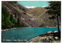 St. JACQUES - LAGO BLU - AYAS - VAL D'AOSTA - 1959 - Aosta