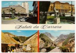 SALUTI DA CARRARA - VEDUTE - 1966 - Carrara