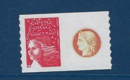 """FR Personnalisés YT 3729Aa """" Marianne 14 Juillet """" 2004 Voir Détail - Personalized Stamps"""