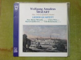 Wolfgang Amadeus MOZART - Duo, Trios Et Quatuors Vocaux - LIEDER QUARTETT - Klassik