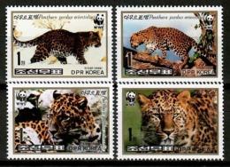 Korea 1998 Corea / Mammals Big Cats WWF Leopard MNH Felinos Säugetiere / Cu13105  38-57 - Felinos