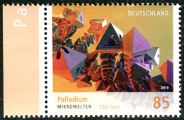 BRD - Mi 3466 - ** Postfrisch (M) - 85C      Mikrowelten Palladium VIII, Ausgabe: 06.06.2019 - [7] Repubblica Federale
