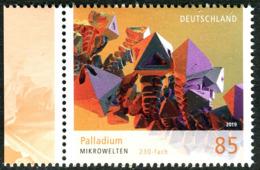 BRD - Mi 3466 - ** Postfrisch (N) - 85C      Mikrowelten Palladium VIII, Ausgabe: 06.06.2019 - Ongebruikt
