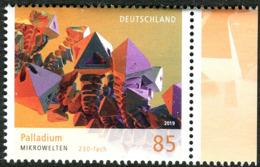 BRD - Mi 3466 - ** Postfrisch (O) - 85C      Mikrowelten Palladium VIII, Ausgabe: 06.06.2019 - [7] Repubblica Federale
