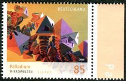 BRD - Mi 3466 - ** Postfrisch (P) - 85C      Mikrowelten Palladium VIII, Ausgabe: 06.06.2019 - [7] Repubblica Federale