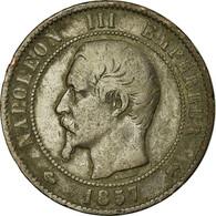 Monnaie, France, Napoleon III, Napoléon III, 10 Centimes, 1857, Rouen, TB+ - France