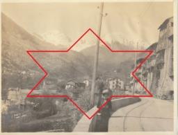 Photo Avril 1912 SAINT-MARTIN-VESUBIE - Une Rue (A215) - Other Municipalities