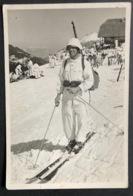 Skifahrer In Weissem Dress/ Fotokarte Gyger/ Klopfenstein Adelboden - BE Bern