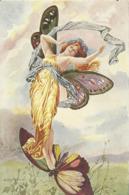 Femme Papillon  - Les Maitres De La Carte Postale - Autres Illustrateurs