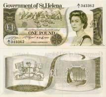 SAINT HELENA        1 Pound        P-9a         ND (1981)         UNC - Isla Santa Helena