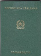 REPUBBLICA ITALIANA PASSAPORTO - VIAJA EN 1969. PASAPORTE MASCULINO, HOMBRE. PASSPORT MAN, PASSEPORT HOMME -LILHU - Documentos Históricos