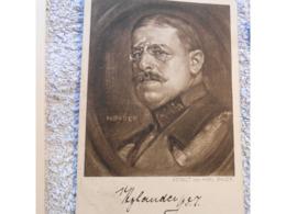 Cpa Kaiser General Hylander Feldpost   Deutschland  Ww1 Guerre 14-18  1wk 1917 - Oorlog 1914-18