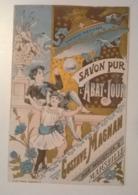 Carte Publicitaire / Thème Savon Lessive Savon Pur L'abat Jour Gustave Magnan Marseille Anse Du Prophète - Publicités