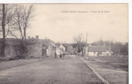Somme - Pont-Rémy - Rue De La Gare - Francia