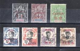Petit Lot 6 ** Et 1 Obli - Unused Stamps