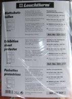 LEUCHTTURM - POCHETTES De PROTECTION Pour FEUILLES De Format A4 (REF. BSH 4) - Fogli Bianchi