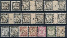 DD-276: FRANCE: Lot Avec Taxes Obl/* N°3(2)-5 Mill* N°10+obl Non Comptés - 1859-1955 Mint/hinged