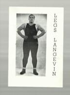 ** LEGS  LANGEVIN   **- - Lotta (Wrestling)