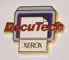 Pin's COPIEUR XEROX, DOCUTECH, Signé ARTHUS BERTRAND - Arthus Bertrand