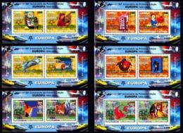 Europa Cept - 2006 - Mozambique - (6 Complete Mini S/Sheet) - Perf. ** MNH - Europa-CEPT