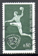 FRANCE. N°1629 De 1970 Oblitéré. Handball. - Balonmano