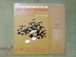 FESTIVAL INTERNATIONAL DU SON HAUTE FIDELITE STEREOPHONIE - Paris 1965, Palais D'Orsay - Klassik