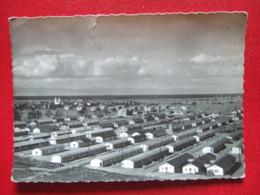 """68 - OTTMARSHEIM - """" E.D. F. - CHANTIERS D' OTTMARSHEIM """" - ---- """" VUE GENERALE D' UNE CITE - MARS 1950 """" -  ---RARE  -- - Ottmarsheim"""