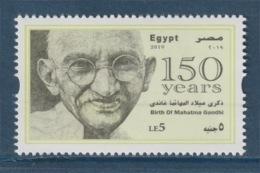 Egypt - 2019 - New - ( 150th Annie., Birth Of Mahatma Gandhi ) - MNH** - Nuovi