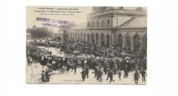 FLOING SEDAN  1.9.1910 INAUGURATION DU MONUMENT DES BRAVES GENS A LA GARE - Sedan
