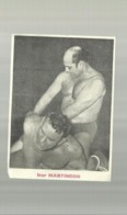 **   1 X  IVAR  MARTINSON  - WORSTELAAR - Wrestling