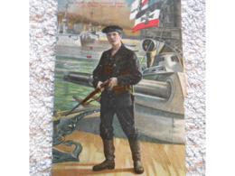 Cpa Pk Patriotika - Feldpost Propagande Deutschland  Ww1 Guerre 14-18  1wk - Guerre 1914-18