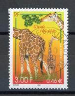 """FRANCE - GIRAFE - N° Yvert 3333 Obli.  RONDE DE """"NICE 2000"""" - France"""