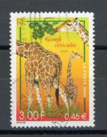 """FRANCE - GIRAFE - N° Yvert 3333 Obli.  RONDE DE """"TREVOUX 2000"""" - France"""
